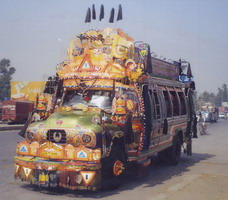 Another of Peshawar's buses 2