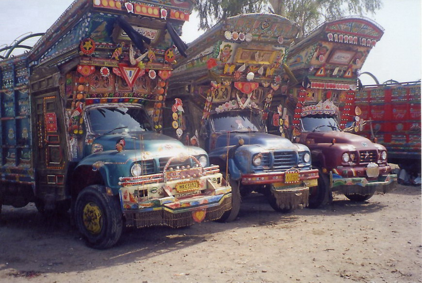 The Afghani version of trucks.