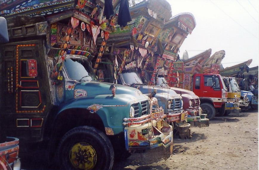 Afghani trucks- 2.