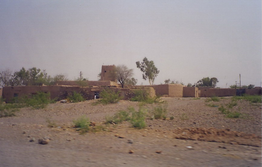 One of the mud & wattle villages of the Khyber pass.
