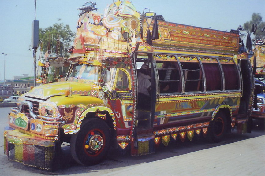 Another of Peshawar's buses.