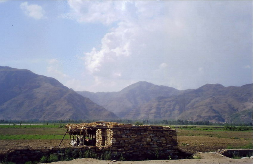 Hindukush mountains.