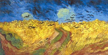 Crows over a Wheatfield by Vincent Van Gogh