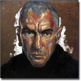 Self-portrait bald, 2004
