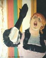 Painting, oil on canvas- Degas- Singer