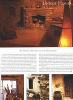 Villa magazine article about Paul Herman's house in the mountains, pg 3