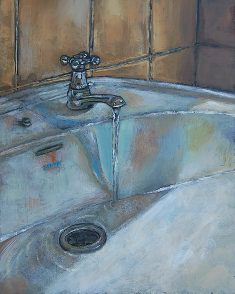 ... Sink  Oils On Panel 10 X 8 Inches ...