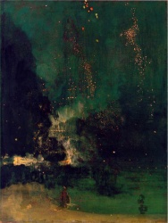 Falling Rockets by James Abbot McNeil Whistler