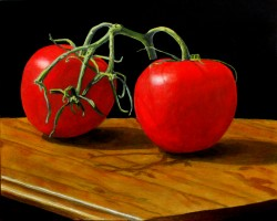 Tomatoes 11 x 14 inches