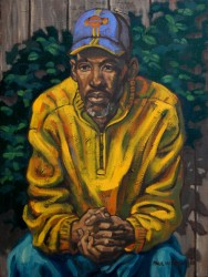Carl Jackson L.A. Oils on canvas
