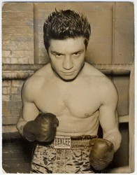 Victor boxing card circa 1950