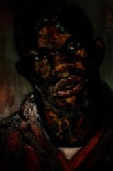 Detail: Dr Daniel Solomon's portrait