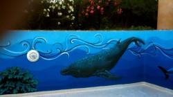 east wall, whale