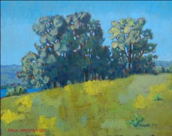 Arcos countryside 1  oil on panel (8 x 10 inches) 20 x 25 cm