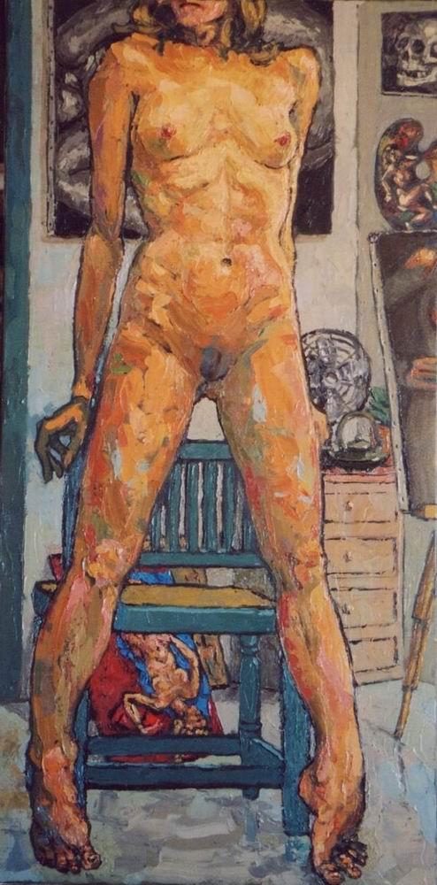 Magali. Oils on canvas