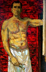 Self portrait 2007 Oils on canvas