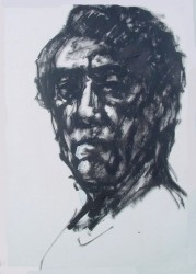Self portrait sketch 2004